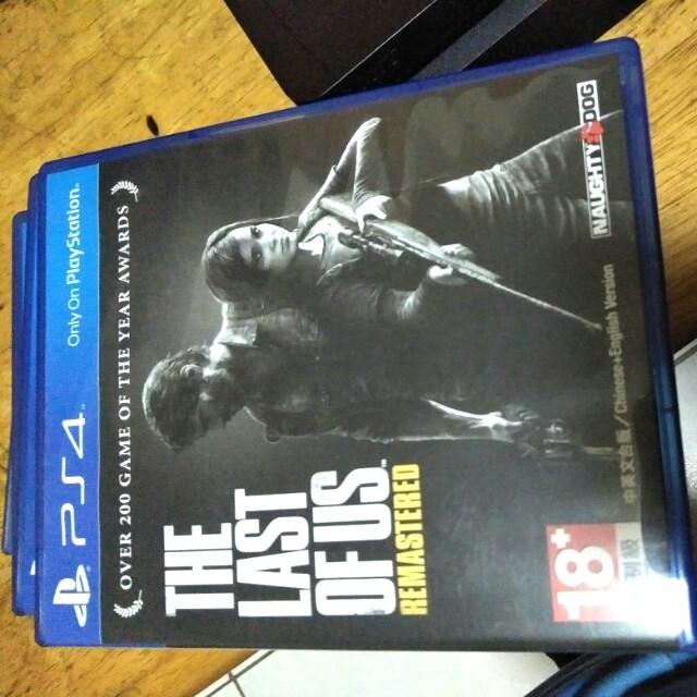 PS4 最後生還者 中文版
