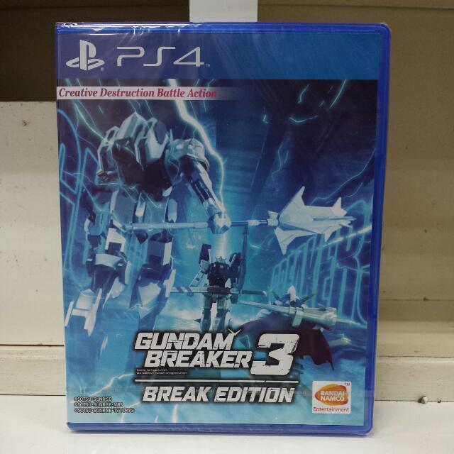 PS4 Gundam Breaker 3 Break Edition R3 English