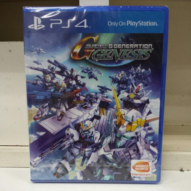 PS4 SD Gundam G Generation Genesis R3 English