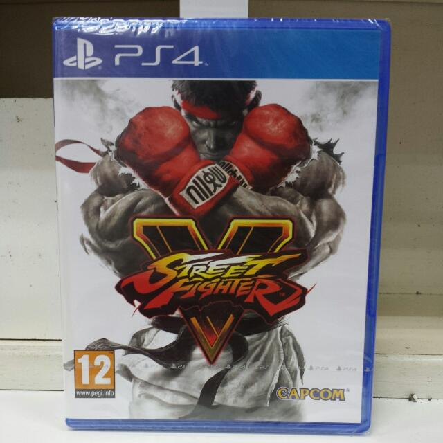 PS4 Street Fighter V