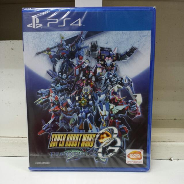 PS4 Super Robot Wars OG The Moon Dwellers R3 (Jap Voice, English Sub)
