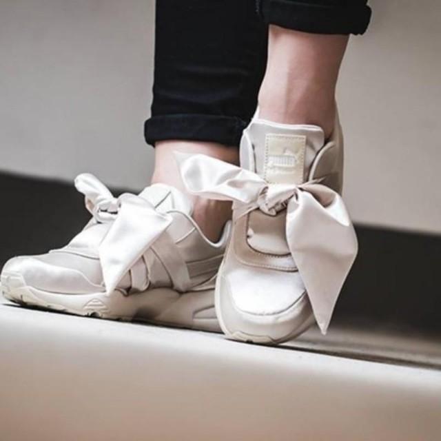 hot sale online 4b3ff fe706 Puma Fenty x Rihanna Bow Sneaker