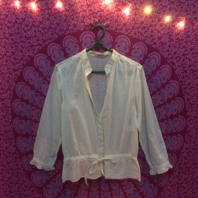 ruby blouse
