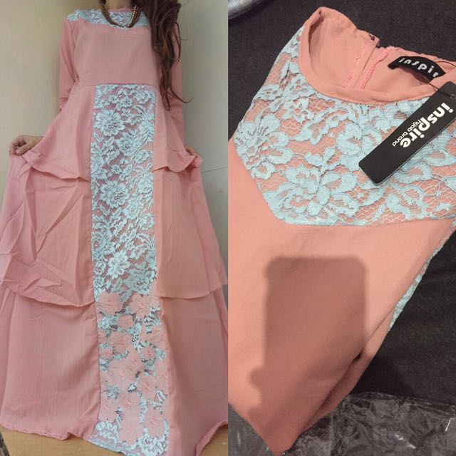 Ruffle Dress /gamis Susun