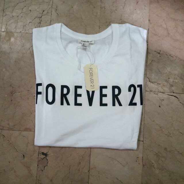 Sale! F21 White ladies tee/shirt