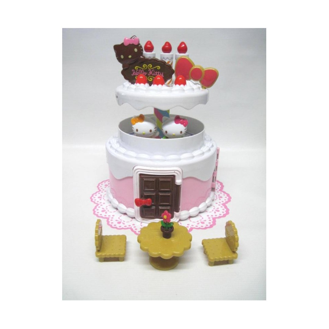 Sanrio Hello Kitty Mimmy Birthday Cake House new slightly