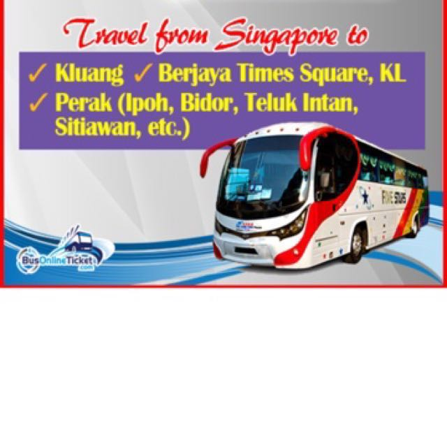 Selling CNY bus ticket