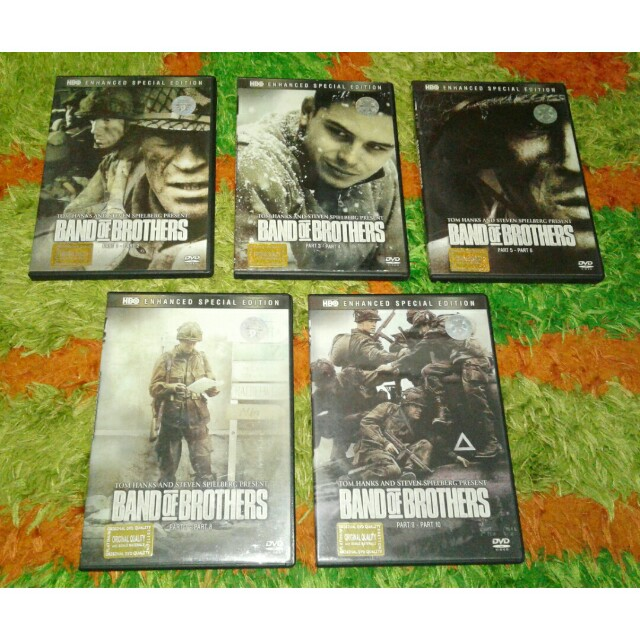 sepaket DVD original band of brother