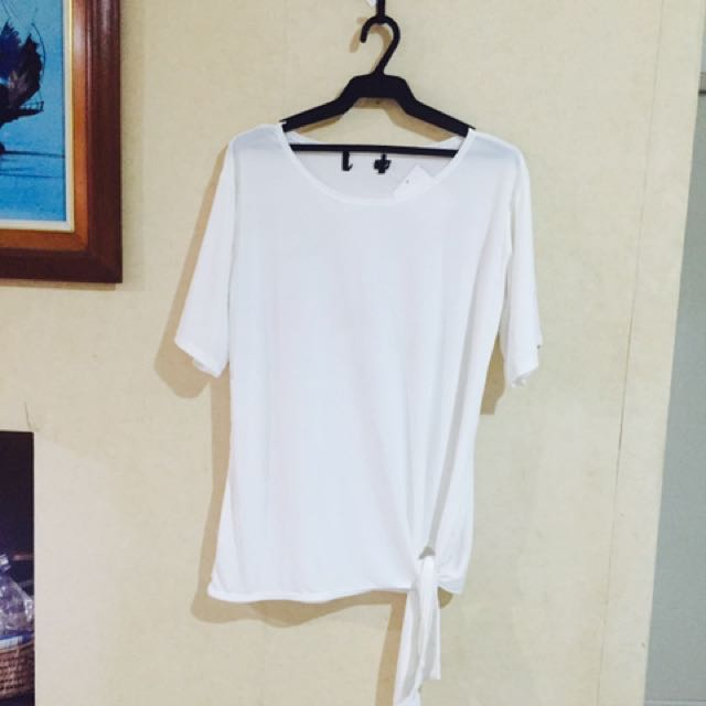 Side knot blouse