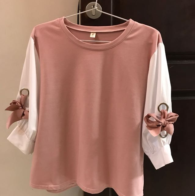 Simple top / atasan pink
