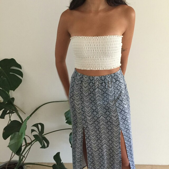Size S maxi skirt