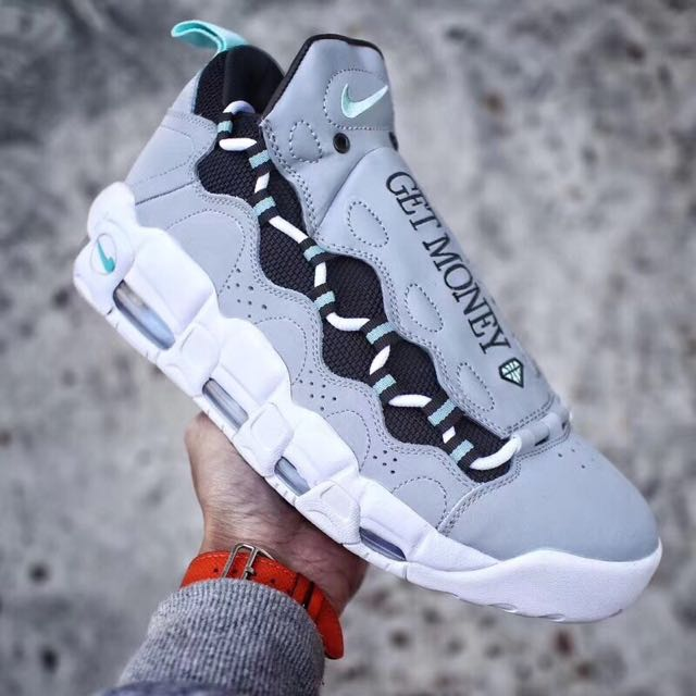 Sneaker room Nike air more money QS , Men's Fashion, Footwear on Carousell