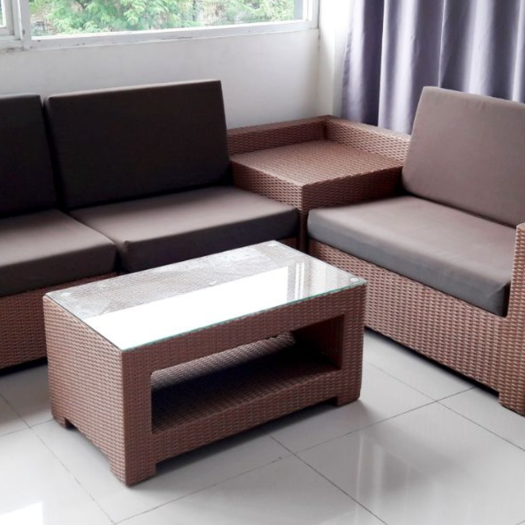 Sofa Rotan Design Craft Others On Carousell