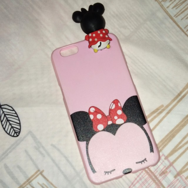 Soft Case OPPO F1S minnie tsum tsum