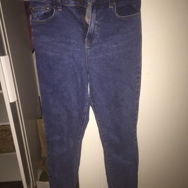 Sportsgirl dark wash denim jeans