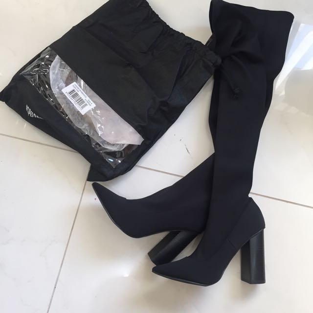 SPURR LYLA OVER THE KNEE BOOTS