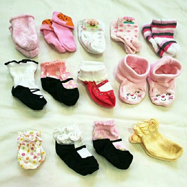 FREE SHIPPING!!! (MM only) Take All! Cute Baby Socks for Girl