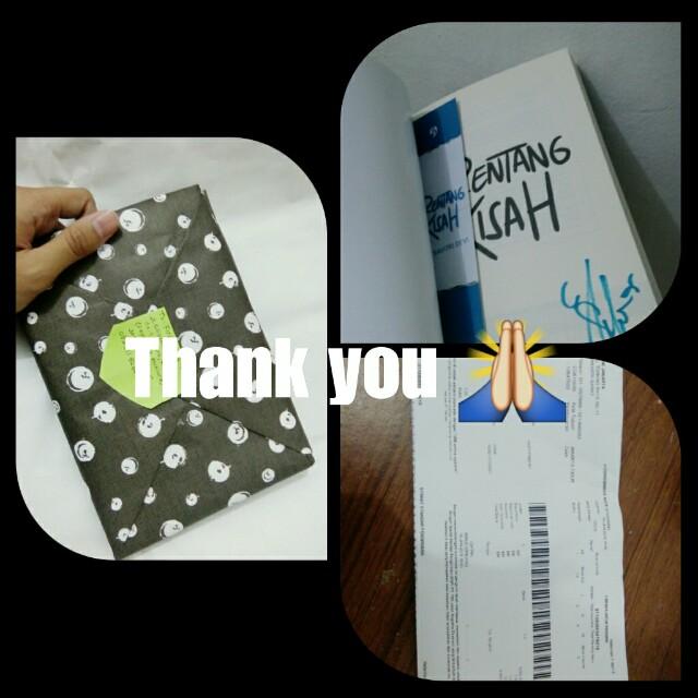 #Testi Novel Thanks 💞