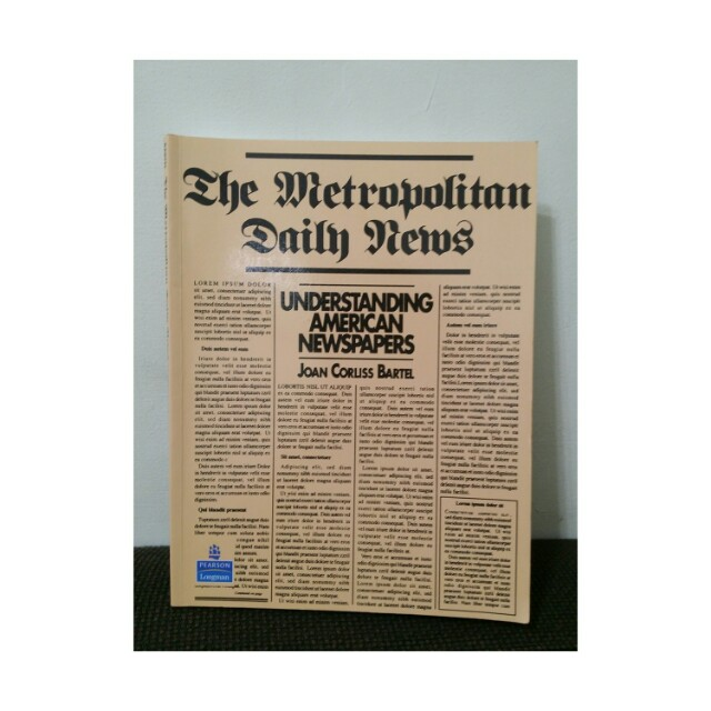 The Metropolitan Daily News #好書新感動
