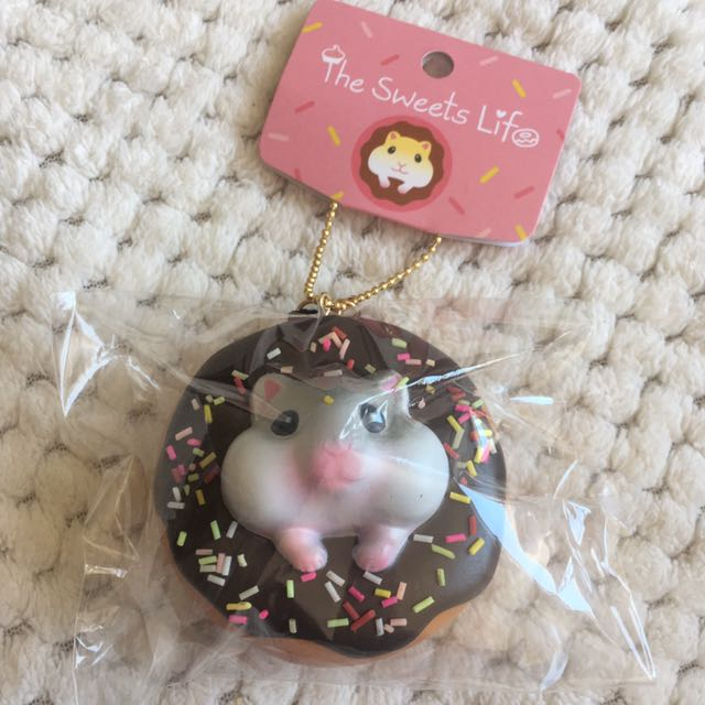 The Sweets Life Hamster Donut