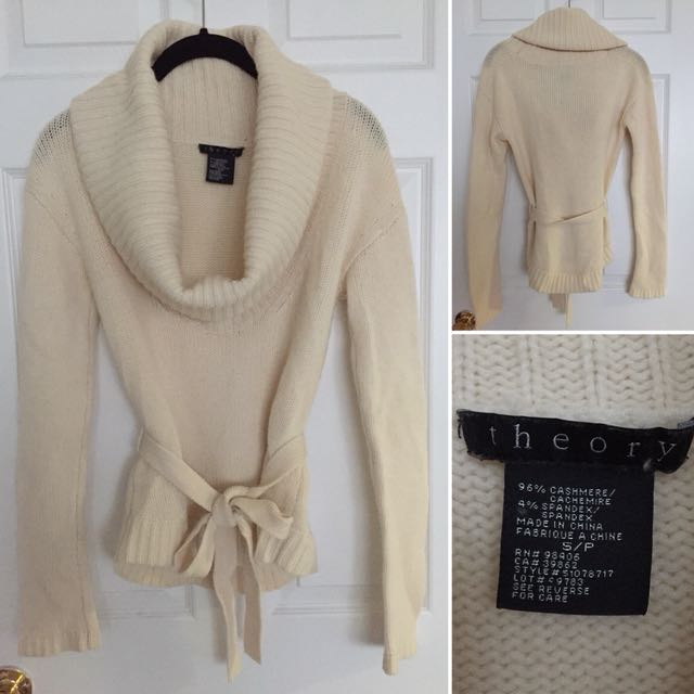 THEORY cashmere sweater - small
