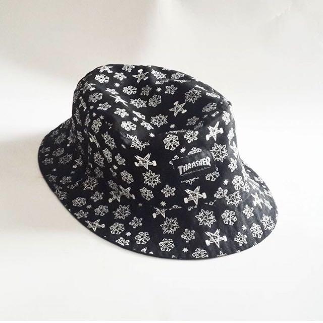 82e55907858 Thrasher skate goat Bucket Hat