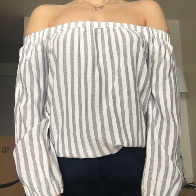 Twik Off The Shoulder Long Sleeve