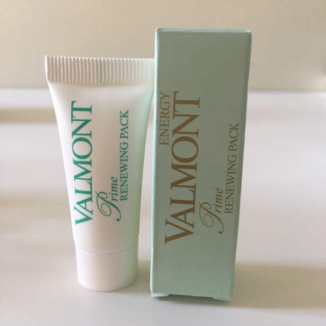 Valmont facial cream mask travel size
