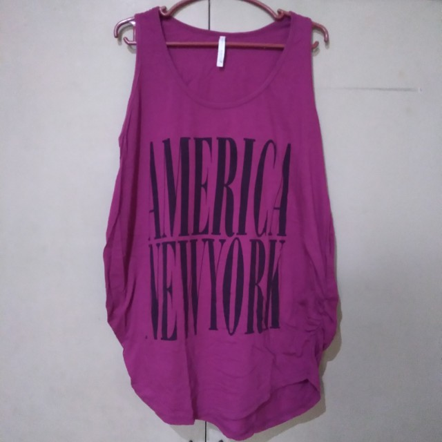 Violet Sleeveless Top