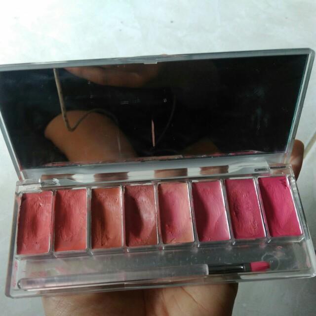 Wardah lip palette nude