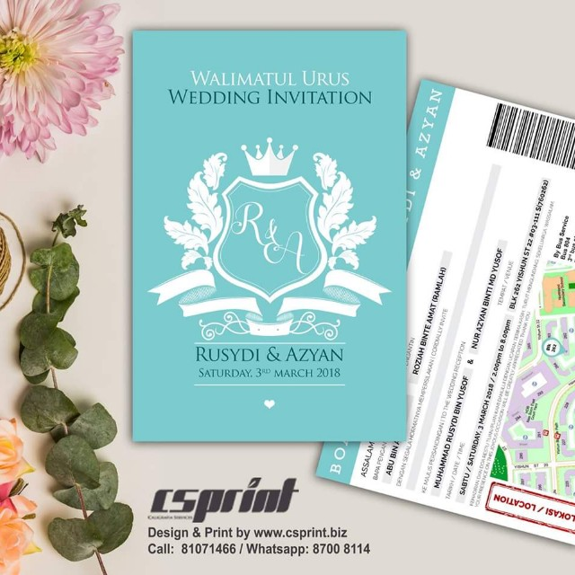 Wedding Card Design And Printing Bulletin Board Preorders On Carousell
