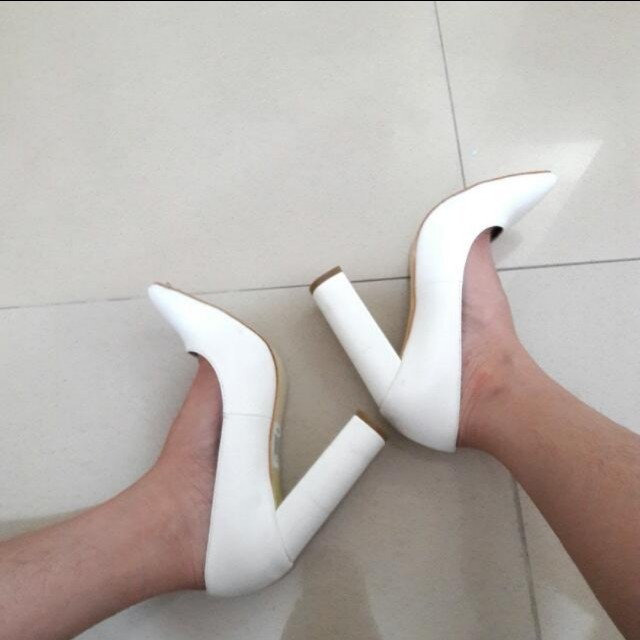 White block shoes