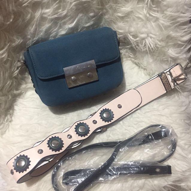 Zara Crossbody Bag - Navy