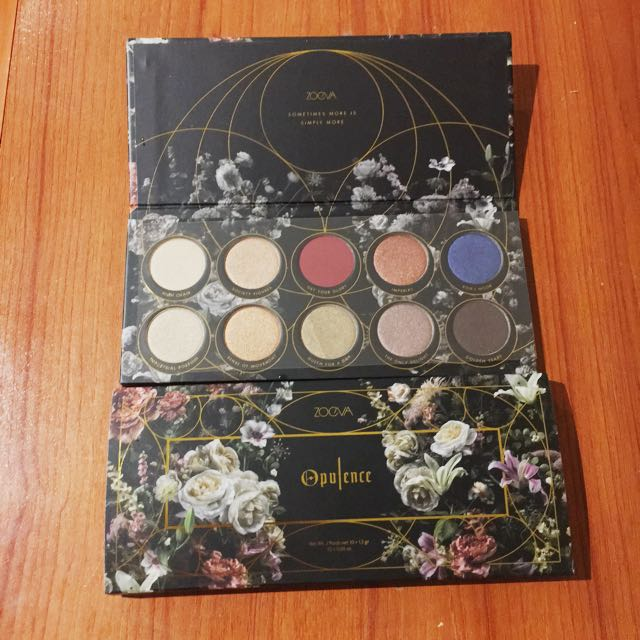 Zoeva Opulence Eyeshadow Palette New 100% Authentic
