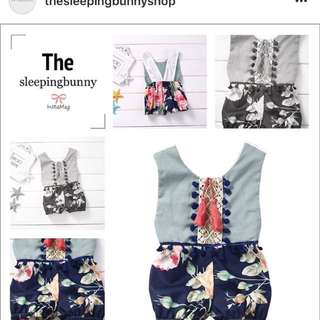 Baby dress rompers