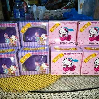 Hello Kitty soaps