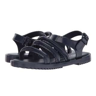 Melissa Shoes | Flox + Vitorino Campos | Navy  | US Women's Size 7,8 | Fit Flop Sandals Slippers | Original Price US$145
