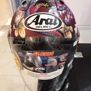 Arai Oriental Red (Limited Edition)