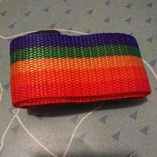 彩虹行李帶