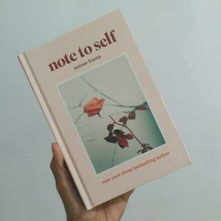 Note to Self by Connor Franta (Hardcover)
