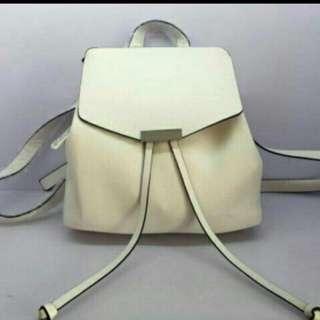 Parfois White Backpack