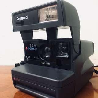 美國製Polaroid 636 Close-up拍立得