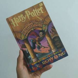 Harry Potter and the Philosopher's Stone (Harry Potter dan Batu Bertuah) By J.K. Rowling (Hardcover)