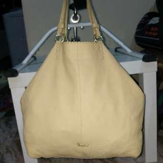 Shoulder/ Tote Bag Leather Beau're