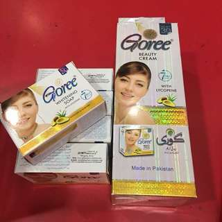 *SET* Goree Whitening Soap and Beauty Cream