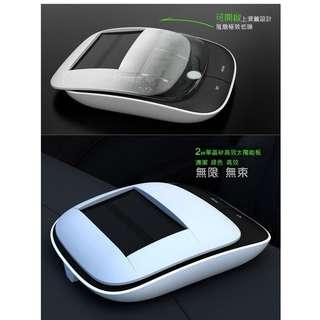 淨化盒子 太陽能車載空氣淨化器(黑色,白色)