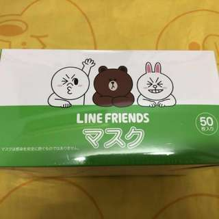 日本Line Friends口罩