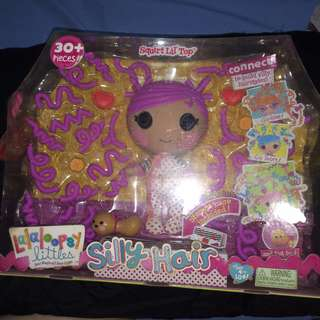 Authentic lalaloopsy Silly hair