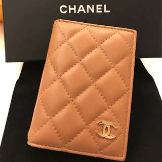 Chanel wallet card case holder