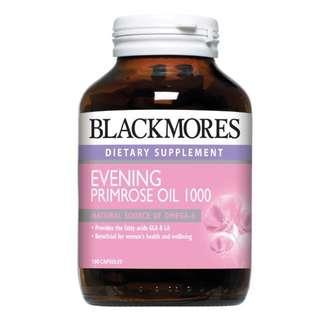 Blackmores Evening Primrose Oil 1000mg (100 capsules)